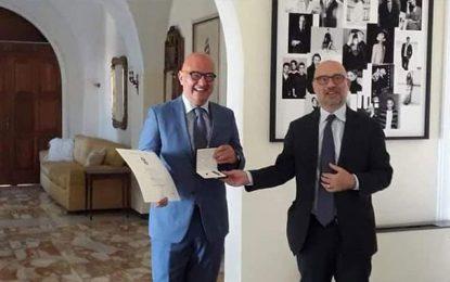 Alfonso Campisi, le plus Tunisien des Italiens, décoré par le président Mattarella