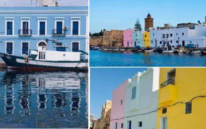 Des jeunes peignent le vieux port de Bizerte aux couleurs de l'espoir (Photos)