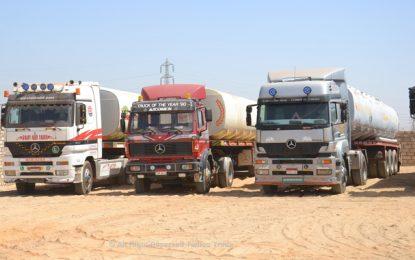 Kébili : Des sit-inneurs bloquent l'entrée des sites pétroliers à El-Faouar