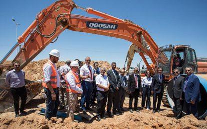 Avancement des travaux de la station de dessalement d'eau de mer de Sfax
