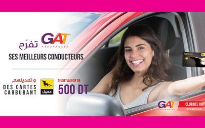 GAT Assurances récompense ses 100 meilleurs conducteurs avec une carte carburant Agil