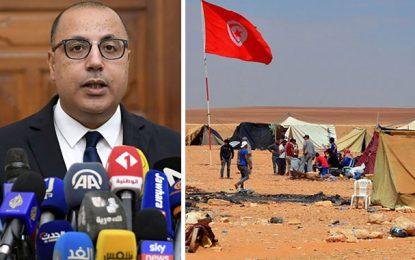 El-Kamour : Le gouvernement annonce un accord, les protestataires imposent des conditions pour lever le sit-in