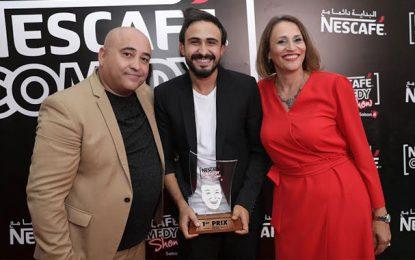 Mohamed Barakati remporte la 6e édition de Nescafé Comedy Show
