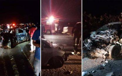 Kef : Décès d'un bébé et 14 blessés dans un accident de la route