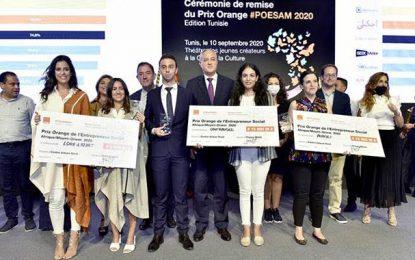 Les 3 lauréats du 10e Prix Orange de l'Entrepreneur Social Afrique & Moyen-Orient