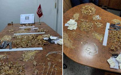 Tunis-Carthage : 4 voyageurs en provenance d'Istanbul, arrêtés en possession de près de 6 Kg d'or (Photos)
