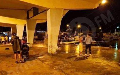 Naufrage d'un bateau de pêche au large de Mahdia, 3 marins secourus