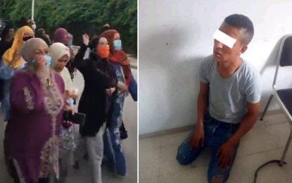 Carthage : Rassemblement devant le palais présidentiel pour réclamer la peine de mort pour le tueur de Rahma