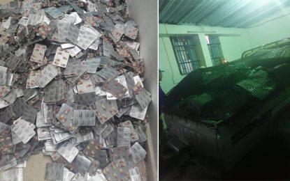 Remada : Après un échange de tirs avec des contrebandiers, la garde douanière saisit plus de 25.550 pilules de stupéfiants