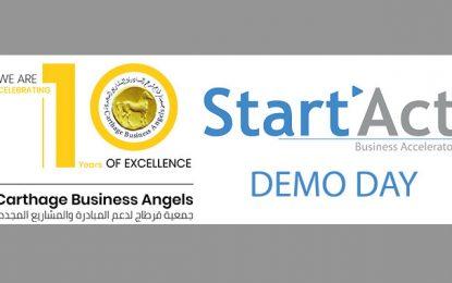 Le Demo Day de Start' Act jeudi 17 septembre à Gammarth