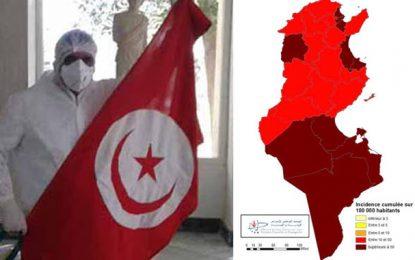 Coronavirus : Tous les gouvernorats de la Tunisie désormais classés dans la «zone rouge»