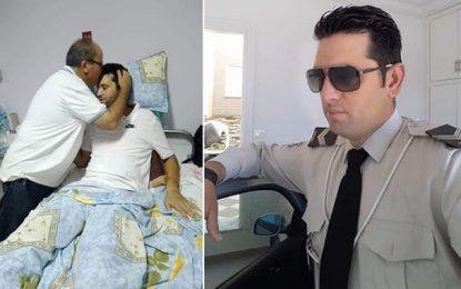 Tunisie : Rétablissement de Rami Limam, l'adjudant de la garde nationale blessé dans l'attaque d'Akouda