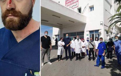 Bizerte : Une équipe médicale agressée à l'hôpital Habib Bougatfa