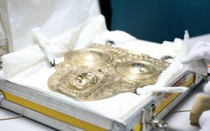 La Tunisie récupère le «bouclier d'Hannibal» et deux autres pièces archéologiques (Photos)