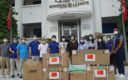Tunisie-Chine : Le ministère de la Santé reçoit un don de matériels de protection contre le coronavirus