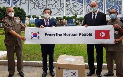 La Tunisie reçoit un don de 273 kits de dépistage du coronavirus de la part de la Corée du Sud