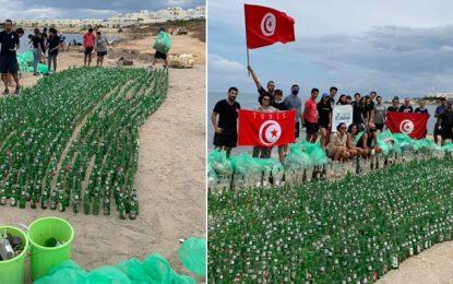Opération mer propre : 4000 bouteilles de bière ramassées à Gammarth (Photos)