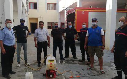 Monastir : Vingt agents de la protection civile testés positifs au coronavirus