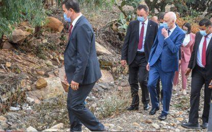 Fernana : Kaïs Saïed promet la mise en place d'un pont pour sécuriser la traversée de l'oued
