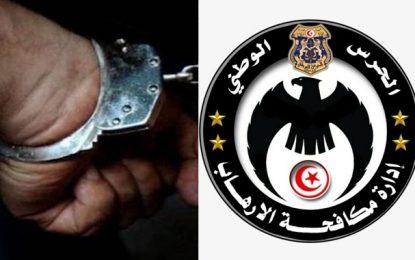 Un terroriste condamné à 2 ans de prison, arrêté à Fouchana