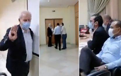 Nouvelle scène de violence à l'Assemblée : Makhlouf s'en prend à Abir Moussi et à Mustapha Ben Ahmed