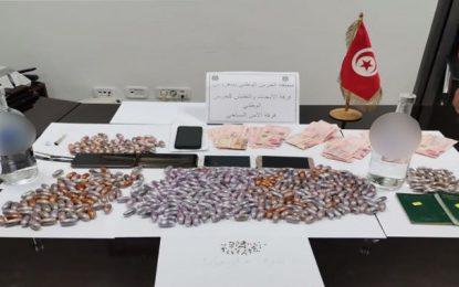 Borj Cédria : Démantèlement d'un réseau de trafic de drogue dans un hôtel