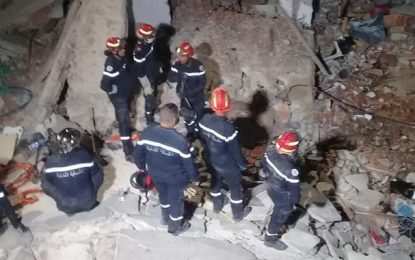Explosion de gaz à la cité Ezzouhour de Tunis : Le bilan s'alourdit