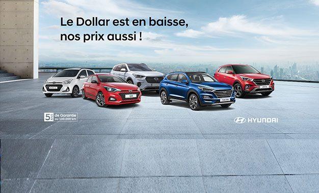 Alpha Hyundai Motor fait profiter ses clients de la baisse du dollar