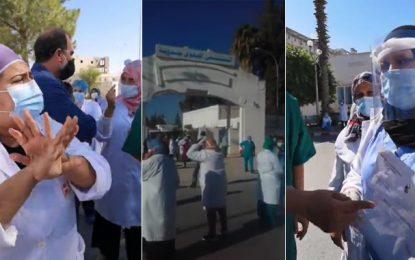 Coronavirus : Le personnel soignant de l'hôpital régional de Jendouba tire la sonnette d'alarme (Vidéo)