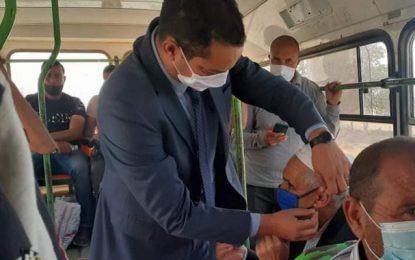 Kasserine : Isolement obligatoire pour toute personne épinglée sans masque en extérieur