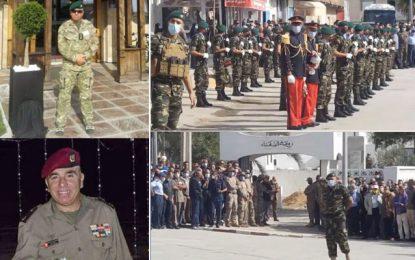 Coronavirus : Le colonel-major Moez Ben Mohamed accompagné à sa dernière demeure à Kalâat El-Andalous (Vidéo)
