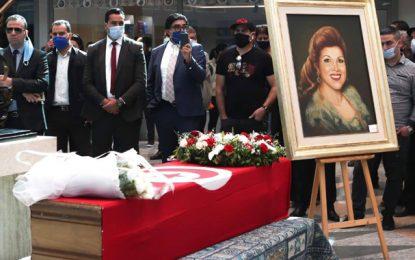 Cité de la Culture de Tunis : Cérémonie funéraire en hommage à Naama (Photo)