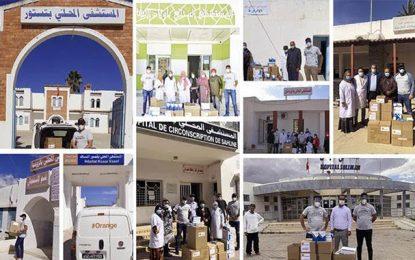 Covid-19 : Orange Tunisie fait don de matériel médical à 20 hôpitaux