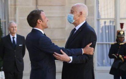 Dans un entretien téléphonique avec Macron, Saïed condamne toute forme de violence et de terrorisme