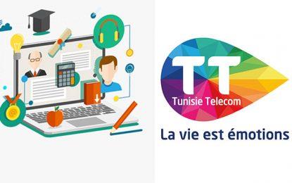 Tunisie Telecom offre un service e-learning gratuit aux étudiants