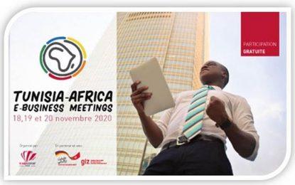 Le 1er Tunisia Africa E-business Meetings du 18 au 20 novembre 2020