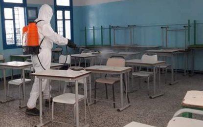 Coronavirus-Tunisie : 1582 contaminations dépistées dans 763 établissements scolaires