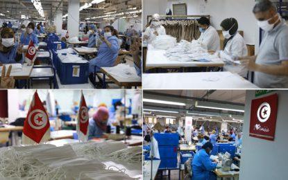 TFH Group mobilise ses employés pour fabriquer des masques, qui seront offerts aux personnes dans le besoin