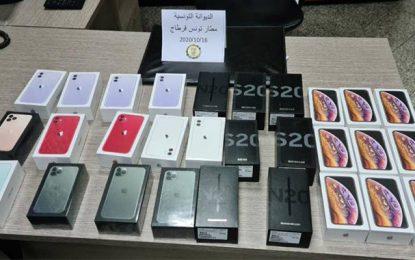 Contrebande – Aéroport Tunis-Carthage : Saisie de téléphones d'une valeur de plus 100.000 dinars