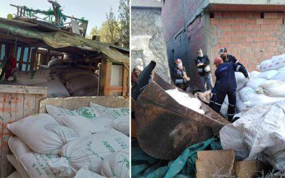 Spéculation : Saisie de plus de 22 tonnes de sucre à Bizerte