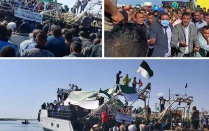 Chebba : Migration collective en direction de l'Italie, les premières embarcations prennent le large (Vidéo)