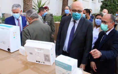 Tunisie : La France fait don d'équipements médicaux au ministère de la Santé (Photos)
