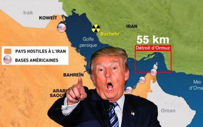 Un dernier baroud d'honneur de Trump dans la région du Golfe ?