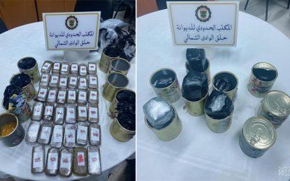 Port de la Goulette : La douane intercepte 35 plaquettes de cannabis cachées dans des boîtes de conserve