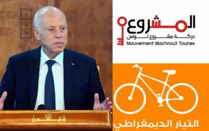 Aziz Ben Lakhdhar dénonce : «Saïed reçoit Attayar et exclut Machrou Tounes, initiateur du projet du dialogue national !»