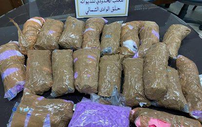 Trafic de drogue : Deux opérations de contrebande contrecarrées par la douane tunisienne