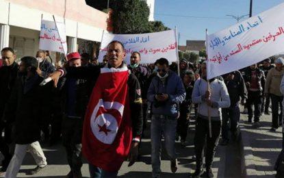 Gafsa : Grève générale à Sened pour protester contre les mesures consacrées au développement dans la région