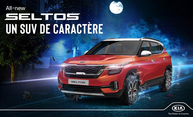 Le tout nouveau Kia Seltos : Un SUV de caractère