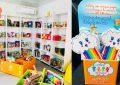 «Un enfant, des sourires» : Acheter un marque-page pour participer à la création d'une bibliothèque scolaire