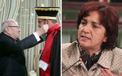 Samia Abbou accuse le premier président de la Cour de cassation de corruption financière